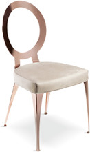 Miss Uncovered Backrest Chair