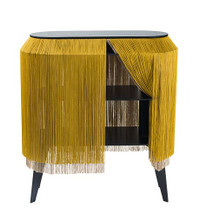 Fringe Side Table