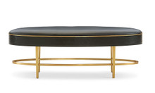 Ellipse Brass Bench