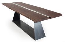 Bedrock Plank Resin Table
