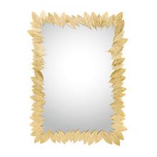 Leaf Rectangular  Mirror