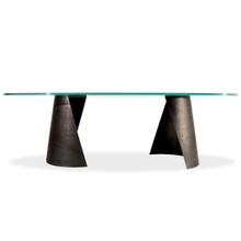 Sculpture Steel Dining Table