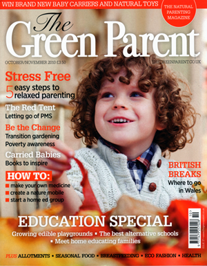 The Green Parent Magazine Cover