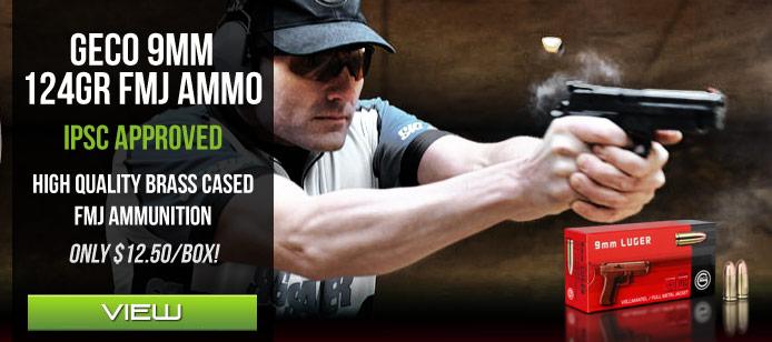 Geco 9mm Ammo