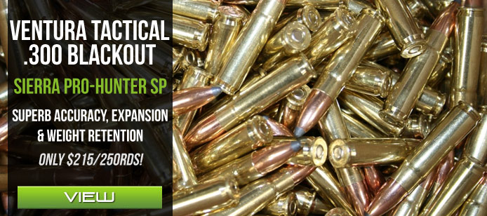 Ventura Tactical Blackout Soft Point Ammo