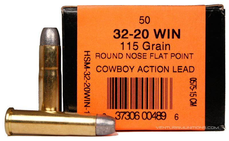 HSM 32-20 Winchester 115gr RNF...