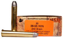 HSM 38-55 Winchester 240gr RNFP-H Ammo - 20 Rounds