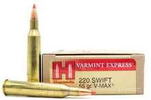 HSM 220 Swift 55gr V-MAX™ Ammo - 20 Rounds
