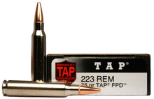 Hornady 223 Remington 75gr LE/TAP®FPD™ Personal Defense Ammo - 20 Rounds