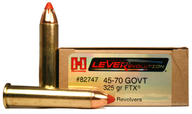 Hornady 45-70 Government 325gr FTX® Ammo - 20 Rounds