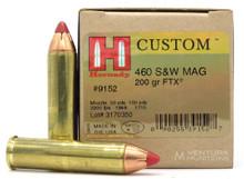 Hornady 460 S&W 200gr FTX® Ammo - 20 Rounds