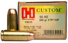 Hornady 50 AE 300gr XTP/HP Ammo - 20 Rounds