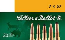 7 X 57 Mauser 173 Grain SPCE Sellier & Bellot