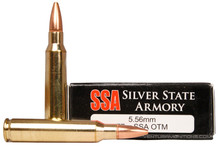 Silver State Armory 5.56 MM 77gr OTM Ammo - 20 Rounds