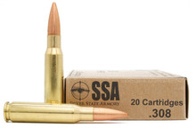 Silver State Armory 308 Winchester 168gr OTM Match Ammo - 20rds