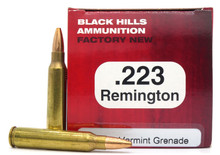 Black Hills 223 Remington 36gr Varmint Grenade Ammo - 50 Rounds
