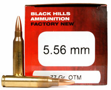 Black Hills 5.56mm 77gr OTM MK262 Ammo - 50 Rounds