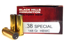 Black Hills 38 Special 148gr HBWC Ammo - 50 Rounds