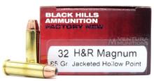 Black Hills 32 H&R Magnum 85gr JHP Ammo - 50 Rounds