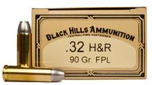 Black Hills 32 H&R Magnum 90gr  FPL Ammo - 50 Rounds