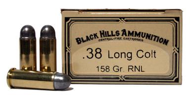38-55 Winchester 255 Grain FNL Black Hills Ammunition