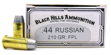 Black Hills 44 Russian 210gr FPL Ammo - 50 Rounds