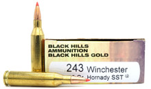 Black Hills 243 Winchester 95gr Hornady SST Ammo - 20 Rounds