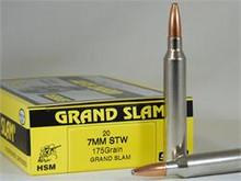 HSM 7 MM STW 175gr Speer Ammo - 20 Rounds