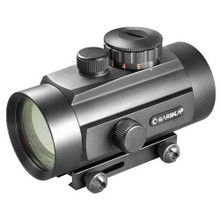 Barska 40mm Dual Color Red Dot Scope w/Dual Size Mount
