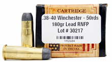 Ventura Heritage 38-40 Winchester 180gr RNFP Ammo - 50 Rounds