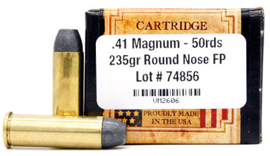 Ventura Heritage 41 Magnum 235gr RNFP Ammo - 50 Rounds