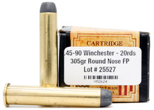 Ventura Heritage 45-90 Winchester 305gr RNFP Ammo - 20 Rounds