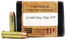 Ventura Heritage 32 H&R 100gr JHP (Hi Speed) New Ammo - 50 Rounds