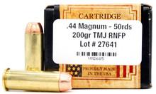 Ventura Heritage 44 Magnum 200gr TMJ Ammo - 50 Rounds