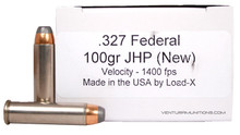 Load-X 327 Federal 100gr JHP Ammo - 50 Rounds