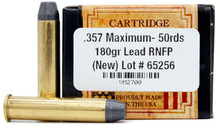 Ventura Heritage 357 Maximum 180gr FP Ammo - 50 Rounds