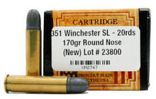 Ventura Heritage 351 Winchester SL 170gr RN Ammo - 20 Rounds
