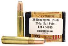 Ventura Heritage 35 Remington 200gr SP Ammo - 20 Rounds