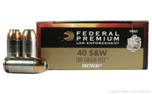 Federal Premium Law Enforcement 40 S&W 180gr HST® P40HST1 - 50 Rounds