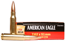 American Eagle 7.62x51mm 168gr OTM M1A Match - 20 Rounds