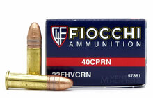 Fiocchi Shooting Dynamics .22 LR 40gr HV Copper Plated RN - 50 Rounds