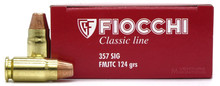 Fiocchi Shooting Dynamics .357 Sig 124gr FMJTC Ammo - 50 Rounds