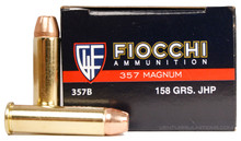 Fiocchi Shooting Dynamics .357 Mag 158gr JHP Ammo - 50 Rounds