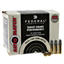 Federal Auto Match 22lr 40gr LRN Ammo - 325 Rounds