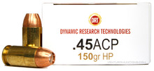 DRT .45 ACP 150gr TerminalShock™ HP - 20 Rounds