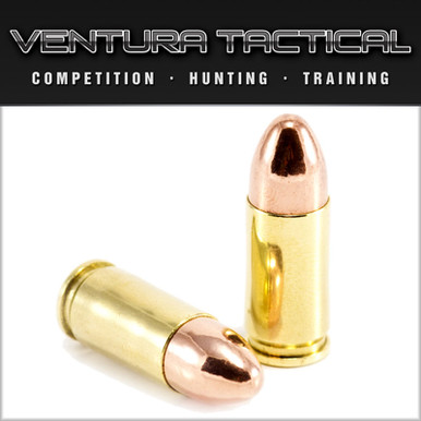 Ventura Tactical 9mm 115gr RN - 250 Rounds