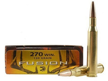 Federal Premium Fusion® 270 Win 130gr SP Ammo - 20 Rounds