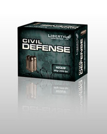 Liberty Civil Defense .40 S&W +P 60gr Fragmenting HP - 20 Rounds
