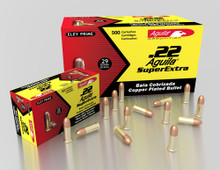 Aguila SuperExtra .22 SHORT 29gr HV Copper Plated RN - 500 Rounds