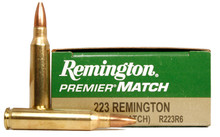 Remington Premier® Match .223 Remington 62gr HP R223R6 - 20 Rounds